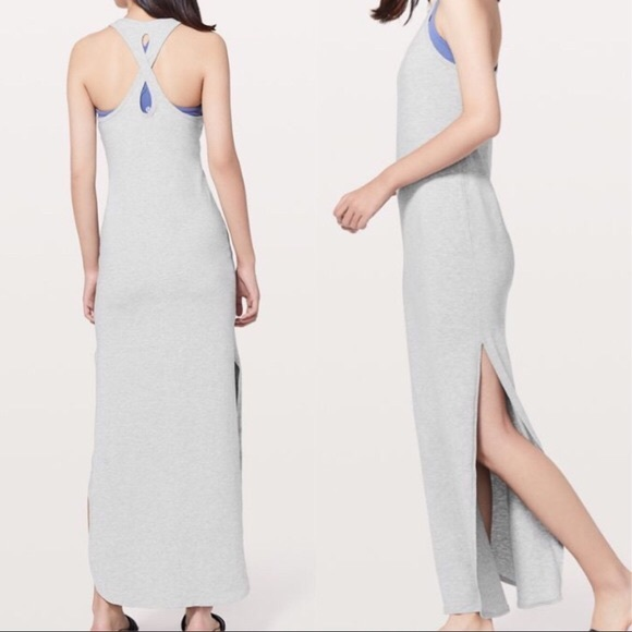 Lululemon Restore & Revitalize Dress Light Grey